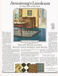 1920 u0027s big vintage armstrong u0027s linoleum flooring period interior