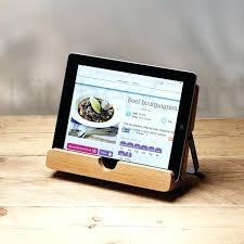 lutrin cuisine tablette tactile cuisine lutrin de cuisine en bois kitchencraft