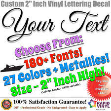 lettering boat decals ebay