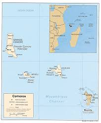 map comoros studies center comoros page