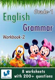download kids english grammar printable worksheets for class 1