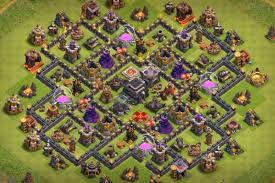 best of clash of clans 9 best coc town hall th9 defense bases 2017 bomb tower cocbases