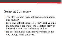 othello by william shakespeare ppt