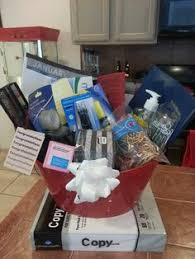 office gift baskets made by chuck aka cynthia elisa doctors office thank