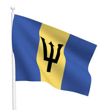 Flag Flying Rules Flag Of Barbados The Symbol Of Blue Sea And Golden Sand