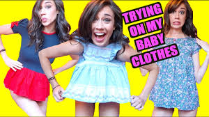 Challenge Psychosoprano Trying On My Baby Clothes