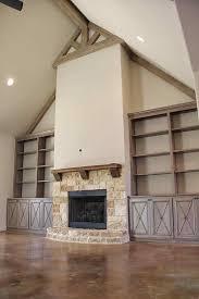 stacked stone fireplace with built ins cpmpublishingcom