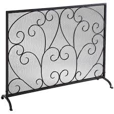 single panel fireplace screen laboratorioc3masd co