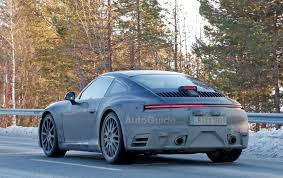 porsche spoiler next gen porsche 911 tucks its spoiler to show off its sleek body