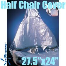 Clear Plastic Chair Covers Starryshine Dental Chair Cover Half Chair 27 5 X24 Clear Plastic