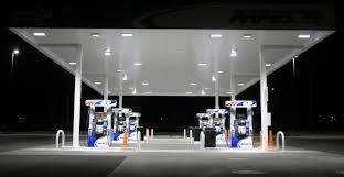 led gas station canopy lights manufacturers led gas station lighting tetrus led
