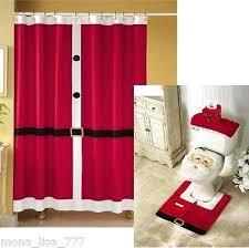 Bathroom Rug And Shower Curtain Sets Bathroom Curtain Set Engem Me