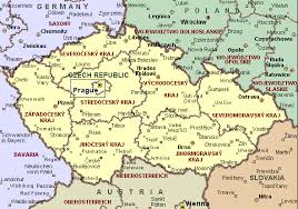 map of countries surrounding germany republic map and surrounding countries