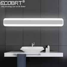 Led Bathroom Mirror Lighting - simple lighting peacock tail shell wall bathroom mirror front