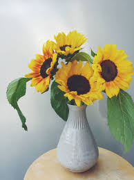 Vase Of Sunflowers The 5 Vases You Need For Having Fresh Flowers Cupcakes U0026 Cashmere