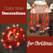 dollar store decorations for christmas