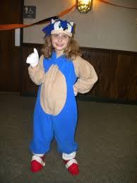 Hedgehog Halloween Costume Mommyhood Kid Sonic Hedgehog Costume