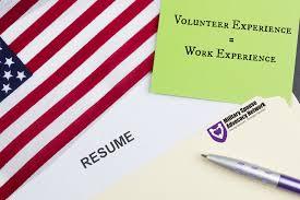 Resume Title Sample by Volunteer Experience U003d Work Experience