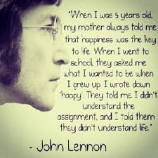 lennon quotes about happiness daily quotes of the