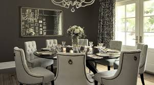 Glamorous Large Round Dining Table Seats   For Your Dining Room - Round dining room tables seats 8
