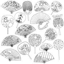 76 coloring pages asian oriental images