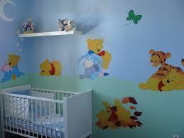 chambre winnie l ourson pour bébé chambre winnie l ourson d co chambre bebe tigrou decoration de