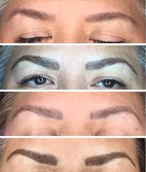 Hair Stroke Eyebrow Tattoo Nyc Cosmetic Tattooing Micropigmentation Mount Kisco Ny