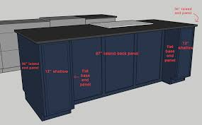 kitchen island out of base cabinets diy design lowdown designing a kitchen island foundation