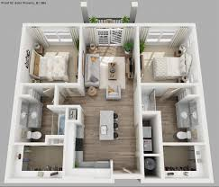 50 two 2 bedroom apartmenthouse plans bedroom large 2 bedroom