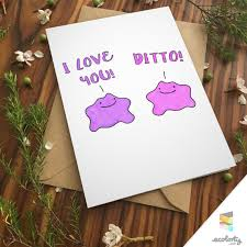 ditto greeting card pun by ecolorty