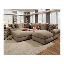 sofa taupe 3 sectional sofa and ottoman in bacarat taupe nebraska