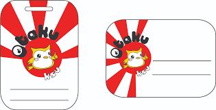 otakuksu convention badge template otakuksu