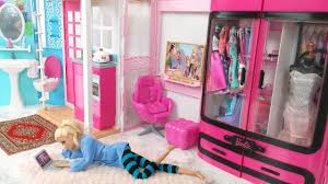 Bedroom House Barbie Bedroom House Morning Routine Barbie Scooter Puppyدمية