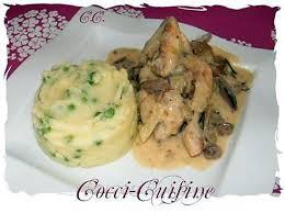 cuisiner le coquelet recette de coquelets aux chignons forestiers et sa sauce suprême