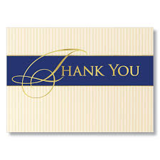 business thank you cards classic business thank you cards for clients and vendors