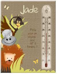 thermomètre mural chambre bébé décoration de chambre bébé fille mobilier et décoration chambre