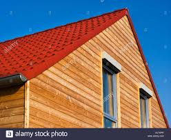 wood wooden house single family house roof truss timbers small