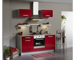 cuisine noir et rouge cuisine cuisine joy porte de nombreux rangements et deux