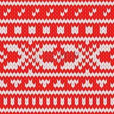 scandinavian sweater seamless pattern in blue royalty free