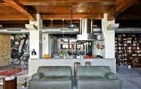 cuisine style industriel loft un appartement loft éclectique où rustique et industriel se