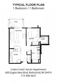 cedar creek i senior housing rothschild wi horizonseniorhousing com