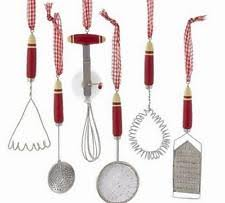 kitchen utensil ornaments ebay