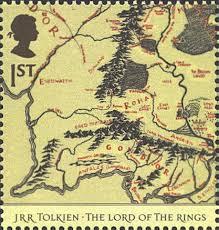 map of the lord of the rings lord of the rings