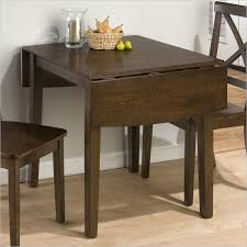 Attractive Rectangular Drop Leaf Dining Table