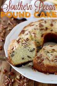 southern pecan pound cake the country cook