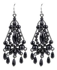 black chandelier earrings 21 best chandelier earrings images on chandelier