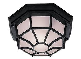 Outdoor Porch Light Black Hexagonal Cast Aluminium Outdoor And Porch Light 2942bk
