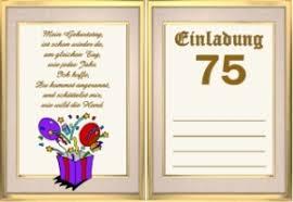 sprüche zum 75 geburtstag einladung 75 geburtstag text askceleste info