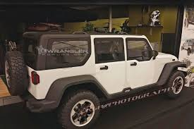jeep truck 2018 lifted 2018 jeep wrangler roof design previewed in clay models 2018