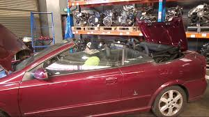 wrecking 2001 holden astra c16135 roof youtube